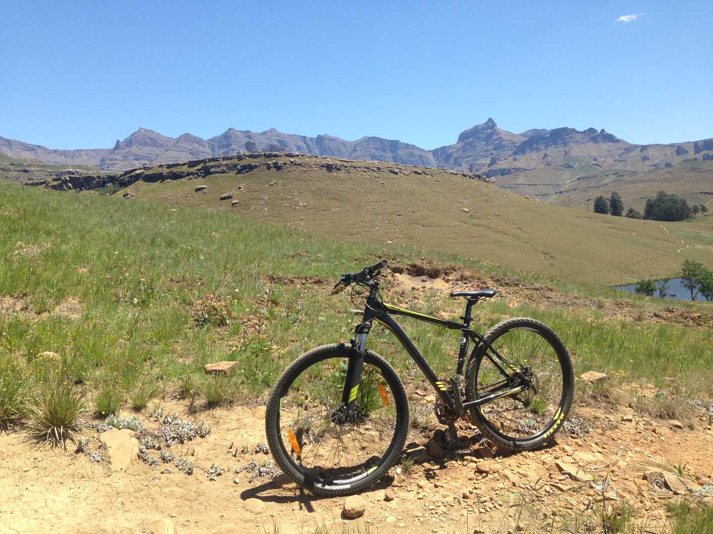 Mountain Biking in the Drakensberg