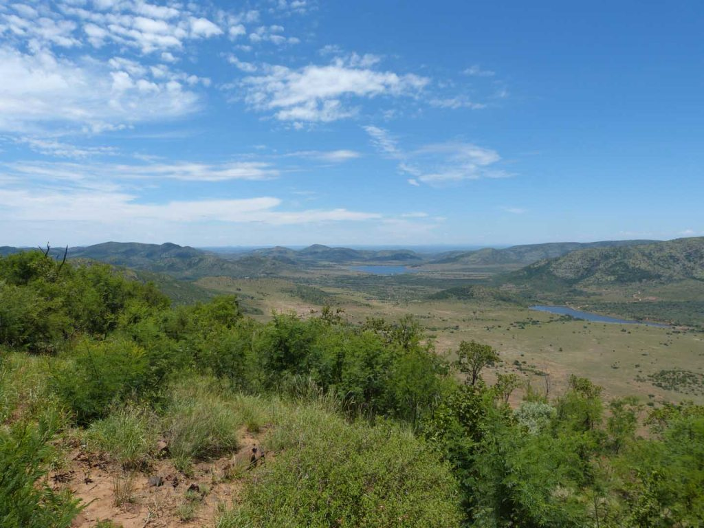 View point over Pilanesberg