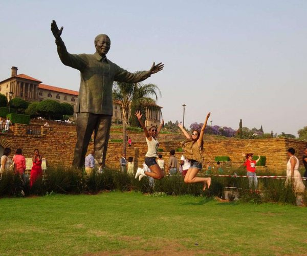 Nelson Mandela Statue at Union Buildings