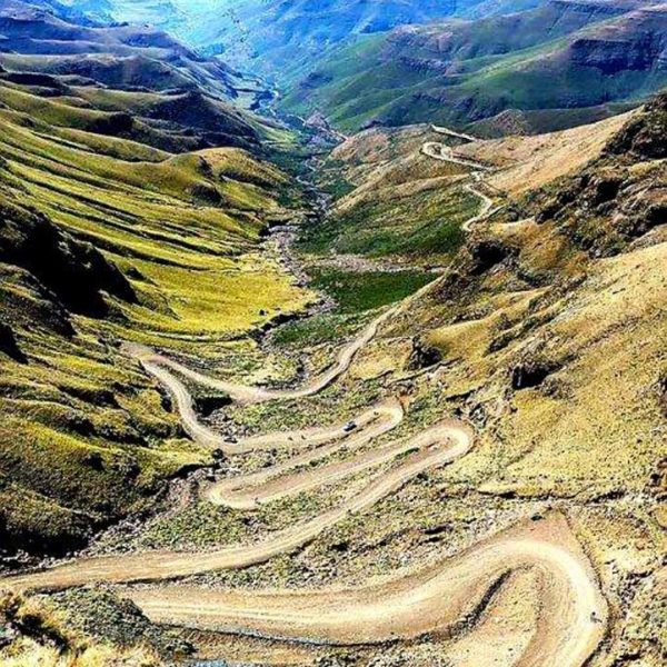 Sani Pass from top